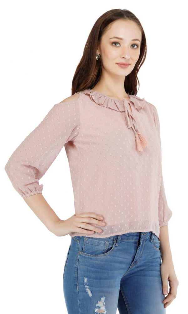 Dooted formal Top on Sale