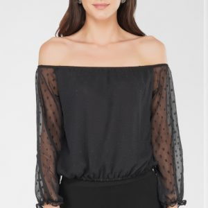 Casual Black Top for women