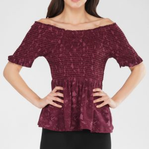 Floral Elastic Top for women